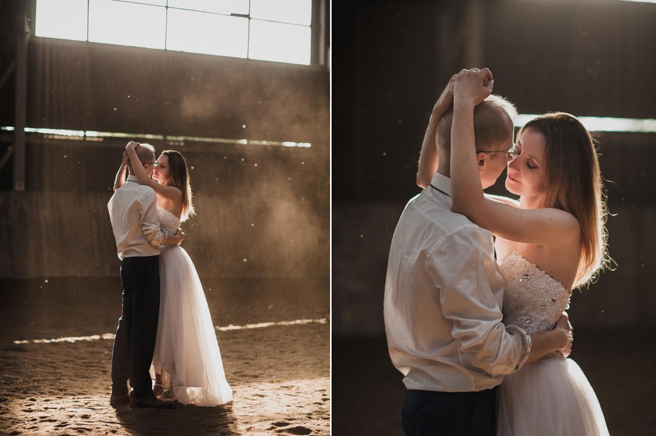 rustykalne wesele fotografia ślubna 2flyteam plener ślubny bolęcin